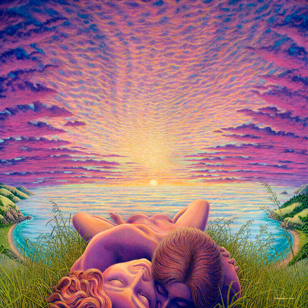 Sunset Sacrament custom print from the original oil painting by Mark Henson
