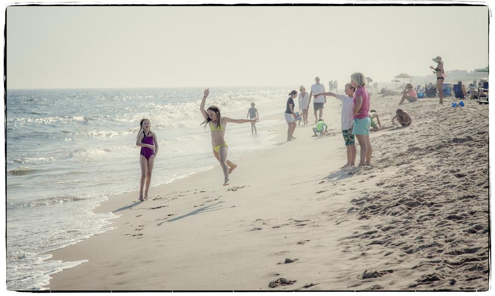 Uncontained joy - Westhampton Beach