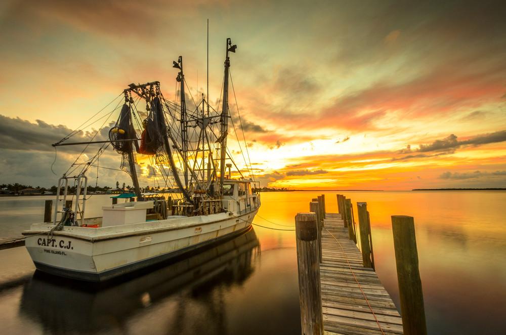 Boat On Fire Photography Art | Gingerich PhotoArt