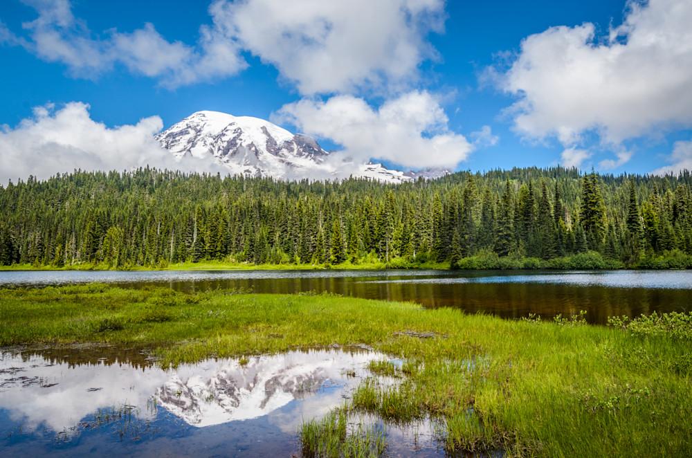 Mt. Rainier & Reflection Lake I