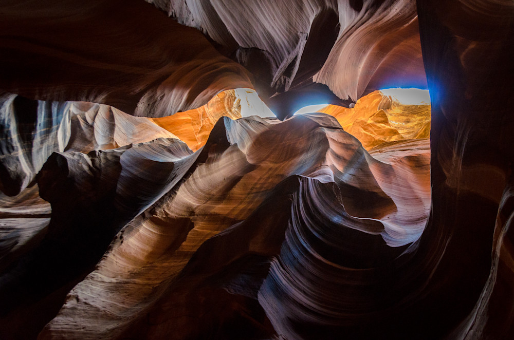 Slot Canyon Awe Photography Art | Gingerich PhotoArt