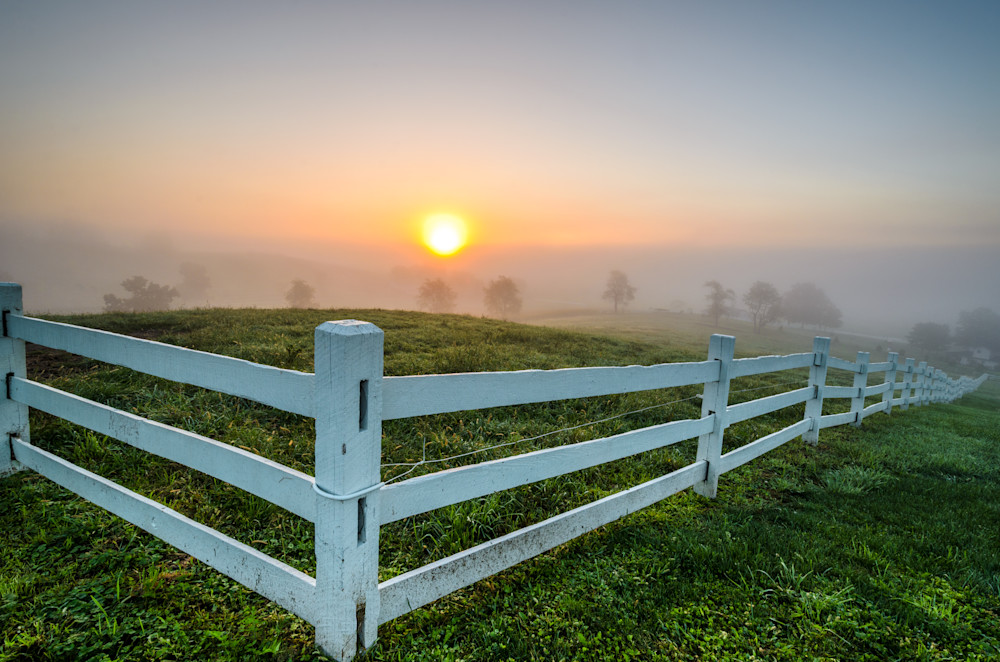 Corralling The Sunrise Photography Art | Gingerich PhotoArt