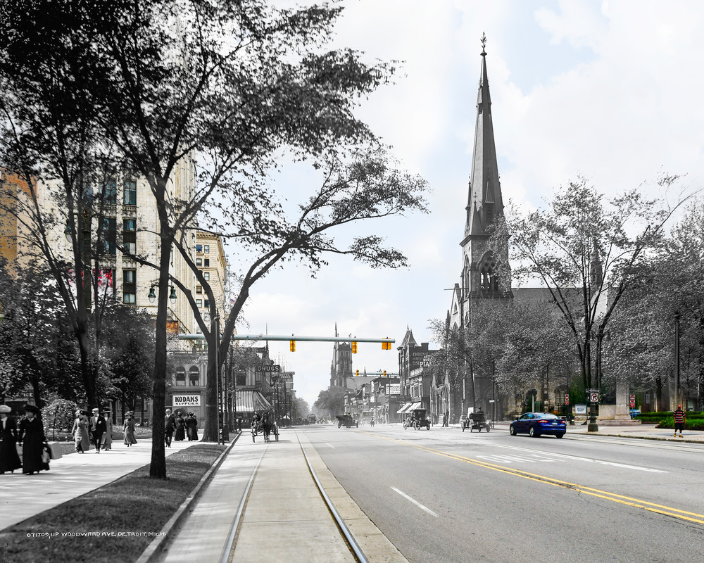 Up Woodward Avenue