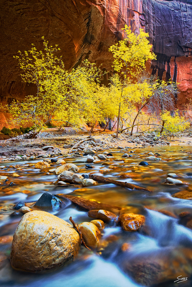 Peaceful Easy Feeling - Zion National Park the Narrows, Utah
