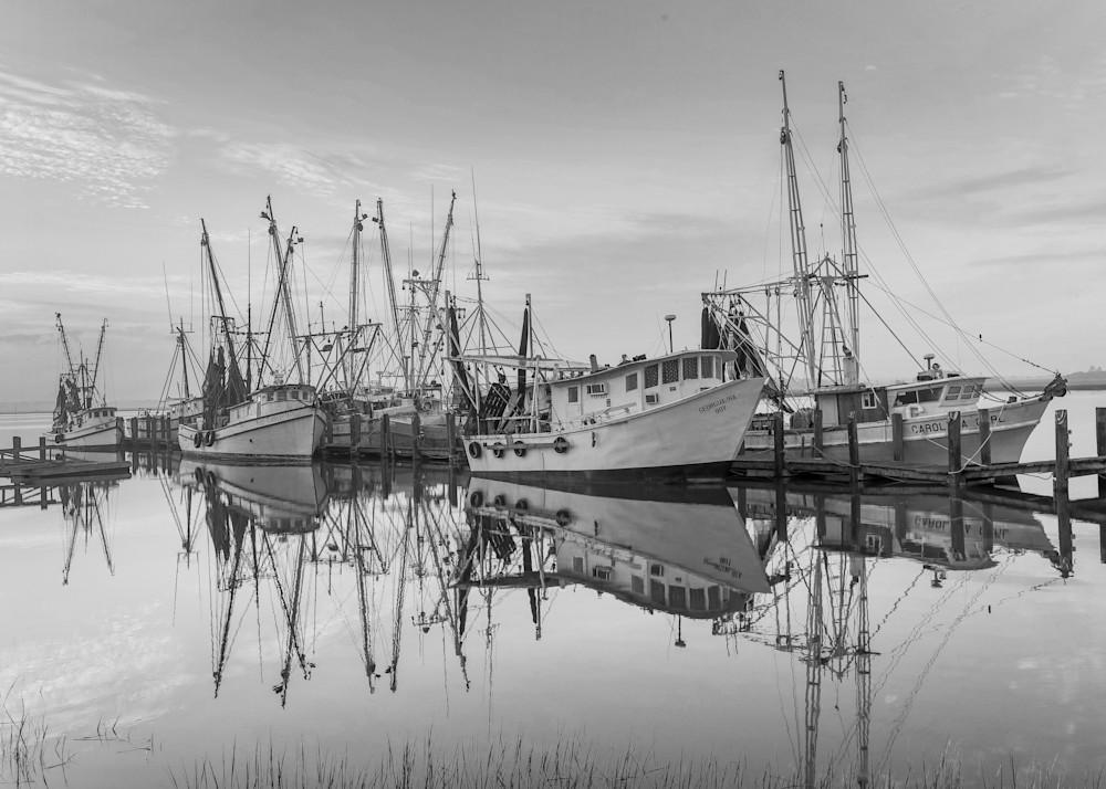 Fleet in Black and White