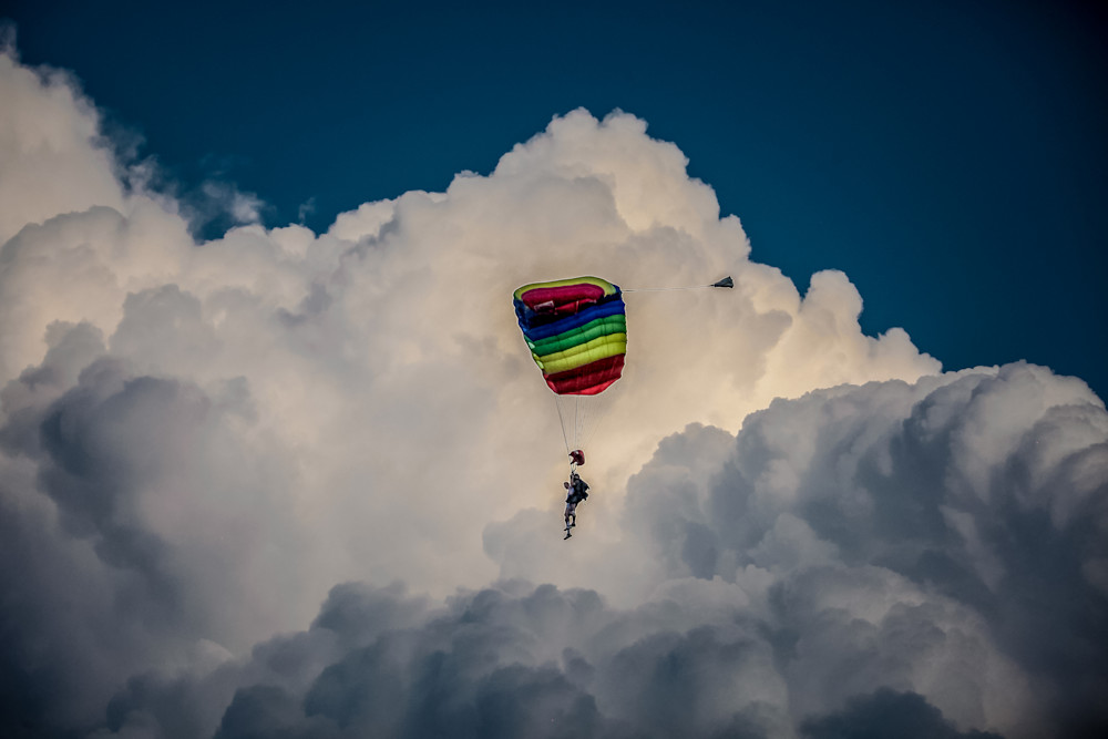 Parachute By The Cloud Art | Roost Studios, Inc.