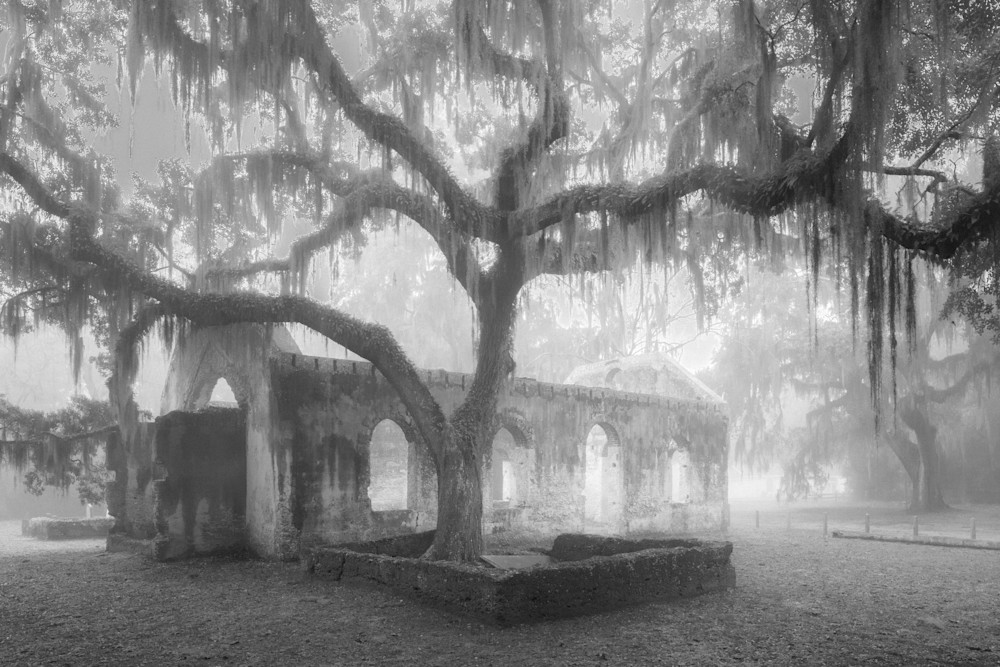 Chapel Of Ease Fog Photography Art | Phil Heim Photography
