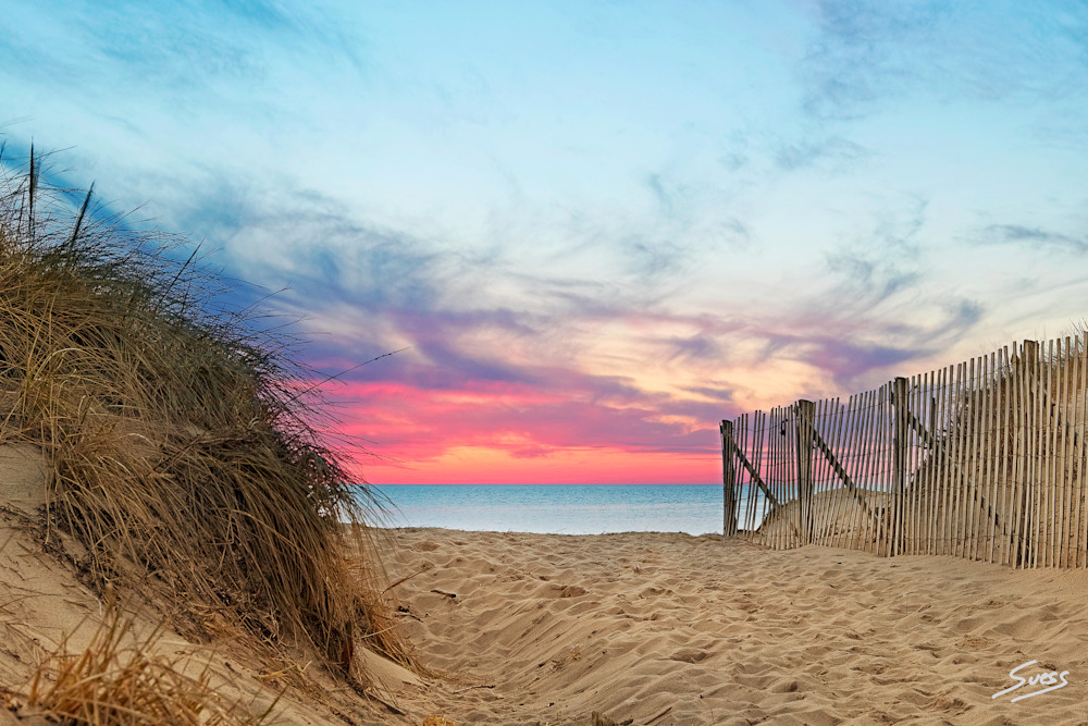 Entrance to Tranquility - Cape Cod, Mass