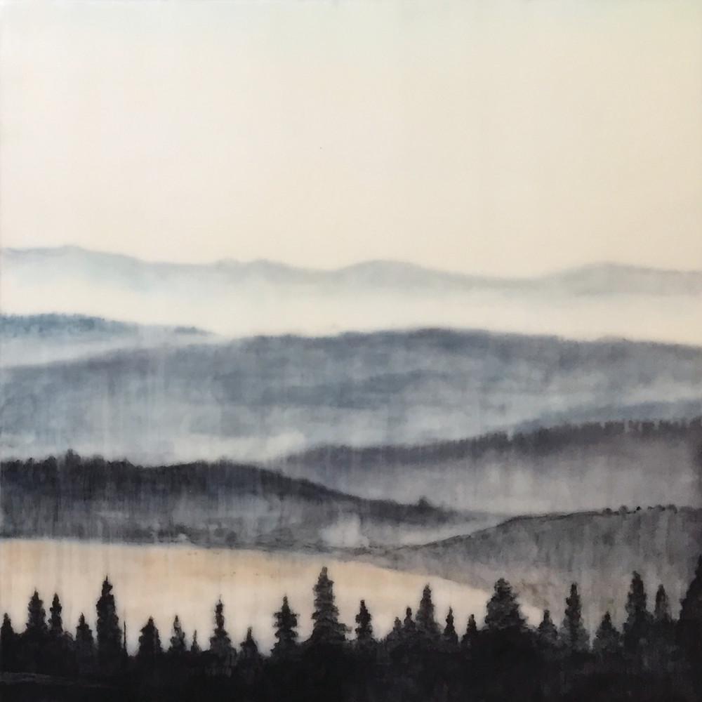 Meditation Lookout No. 2 Art | Leah Johnson Art