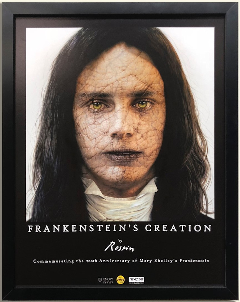 Frankenstein Poster (Framed) Art | Digital Arts Studio / Fine Art Marketplace