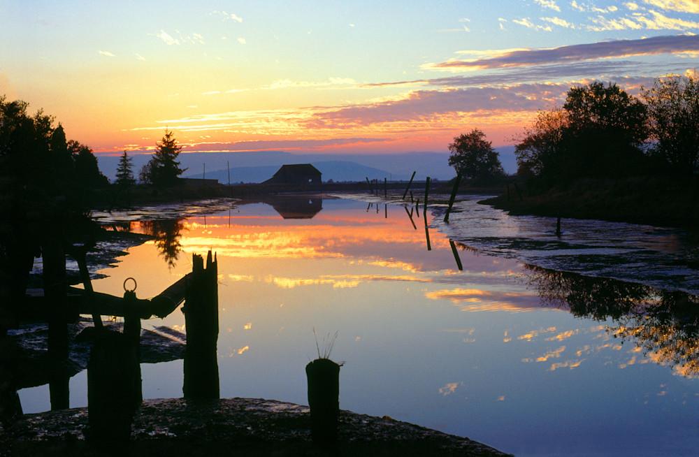 Edison Sunset Art | Northwest Image