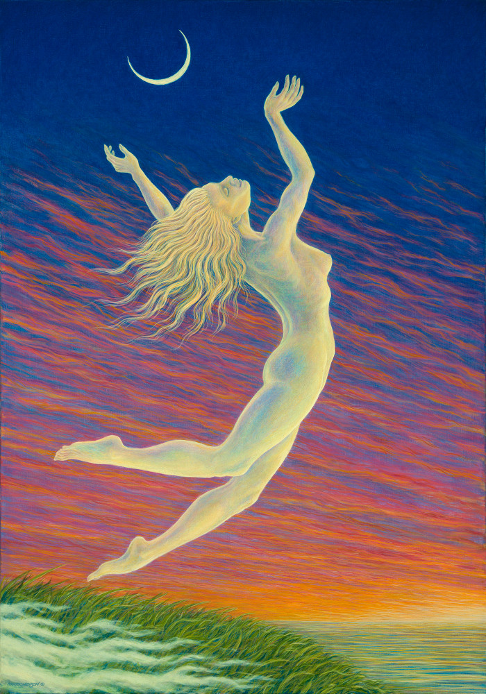 Moondancer custom print from the original painting by Mark Henson