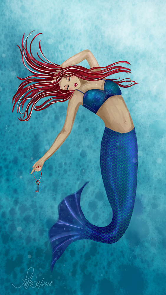 Mermaid with Key