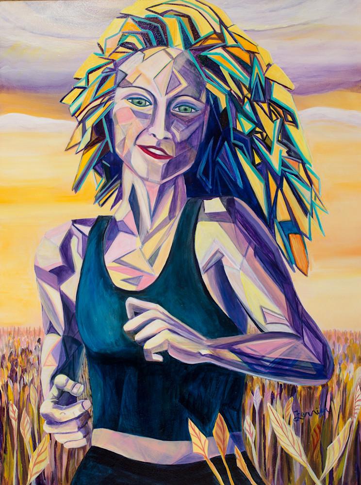 Jasmine, woman_running