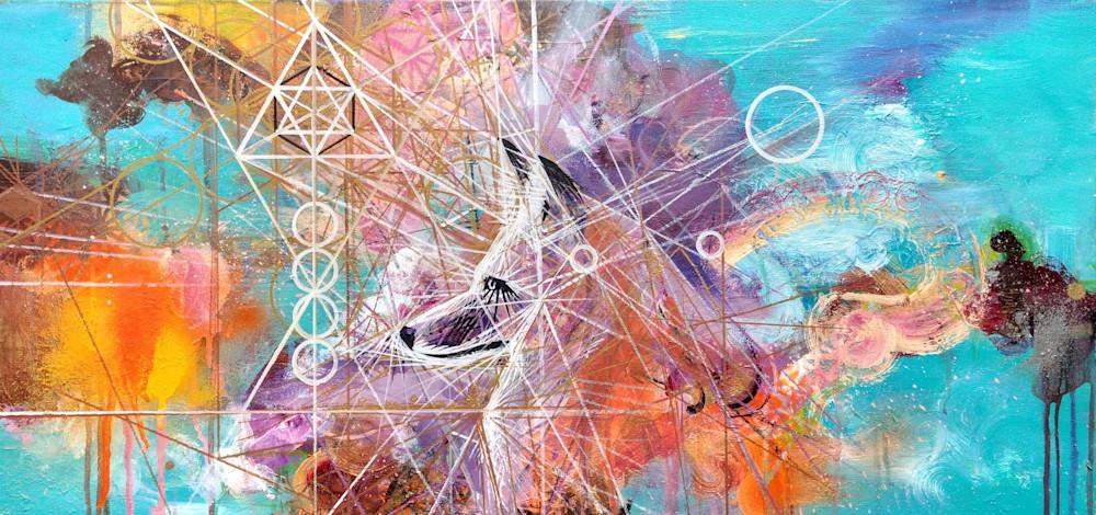 Fox Art   Gnarwhal Designs