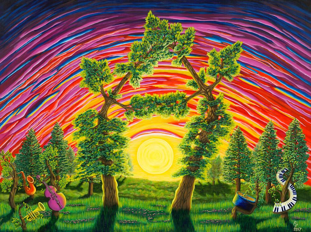 Dance Of Sunset Art | Northwest Image