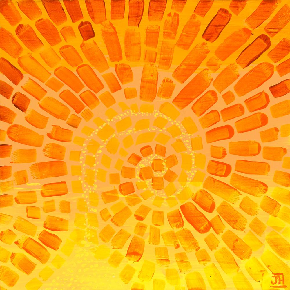 Sunburst, by Jenny Hahn