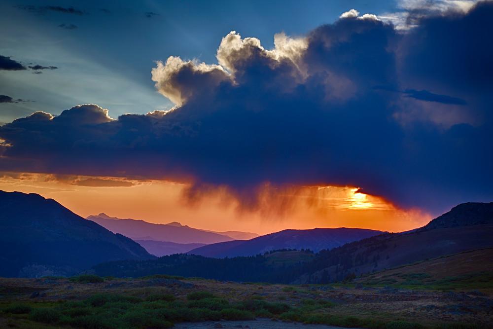 Sunset at Independence Pass