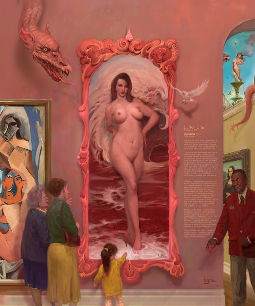 Burton Gray's Meat Venus full image