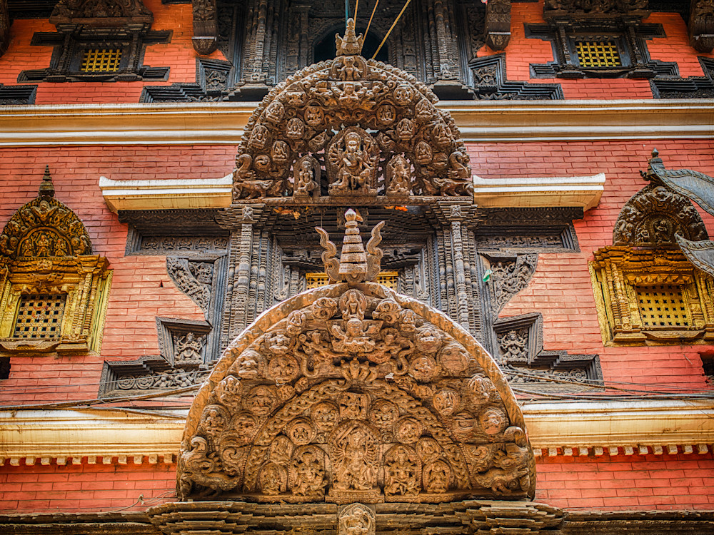 Nepal Hindu Carvings | Travel Photography Print