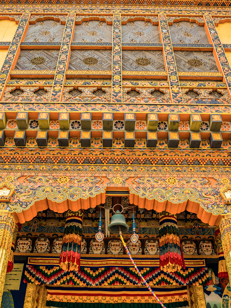 Bhutanese Architectural Detail | Travel Photography Print