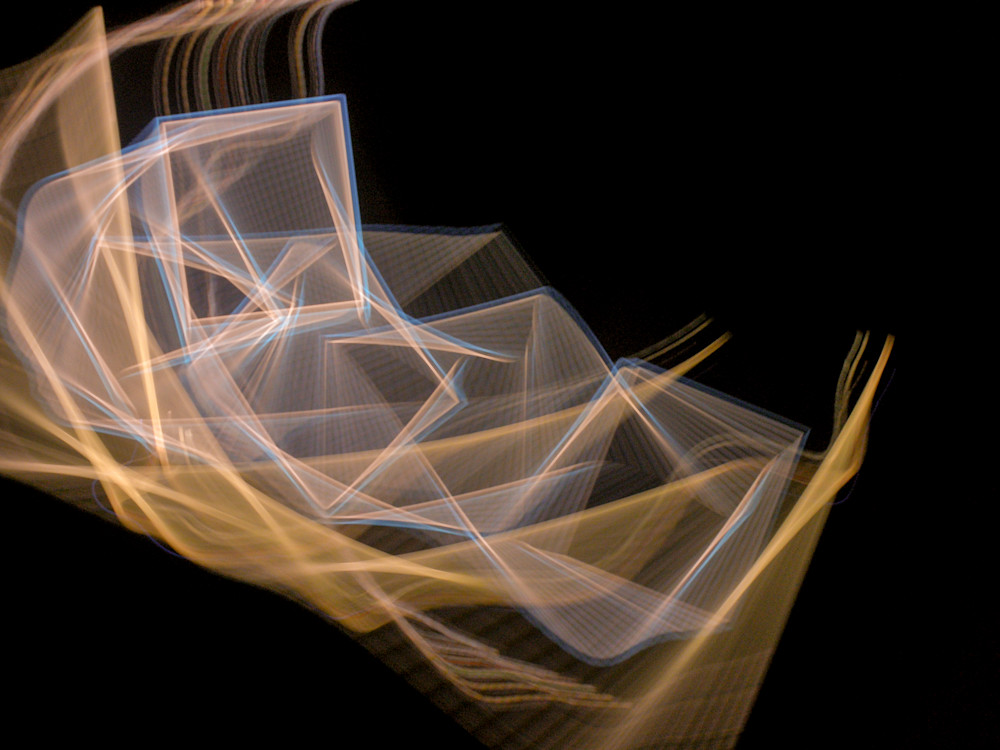 Camera Toss Gold And Blue II | Online Art Photography Store