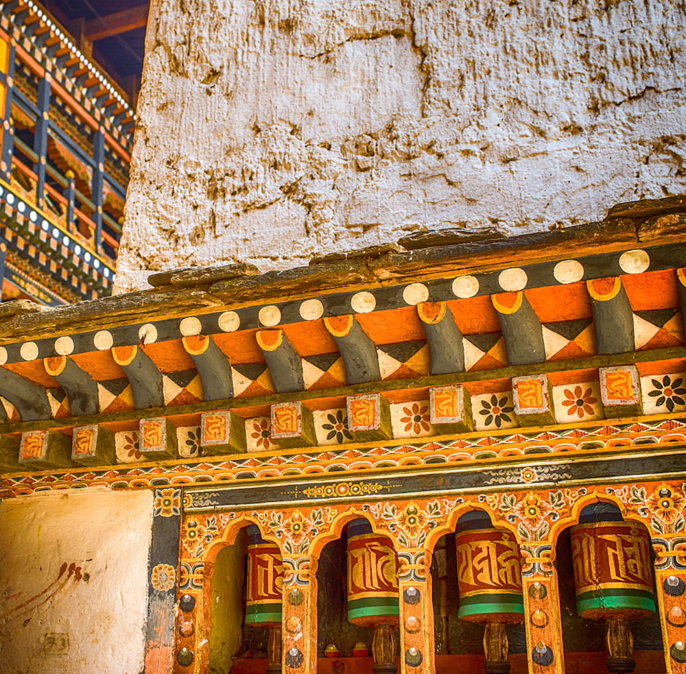 Bhutan Dzong Detail III | Travel Photography Print