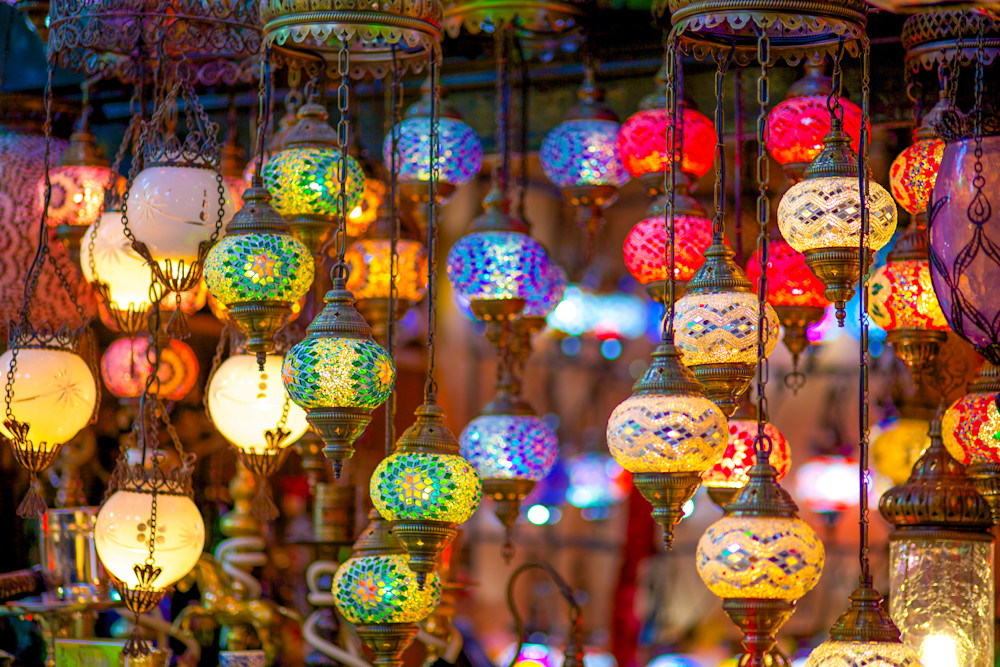 Istanbul Color Globes II | Travel Art Photography Print