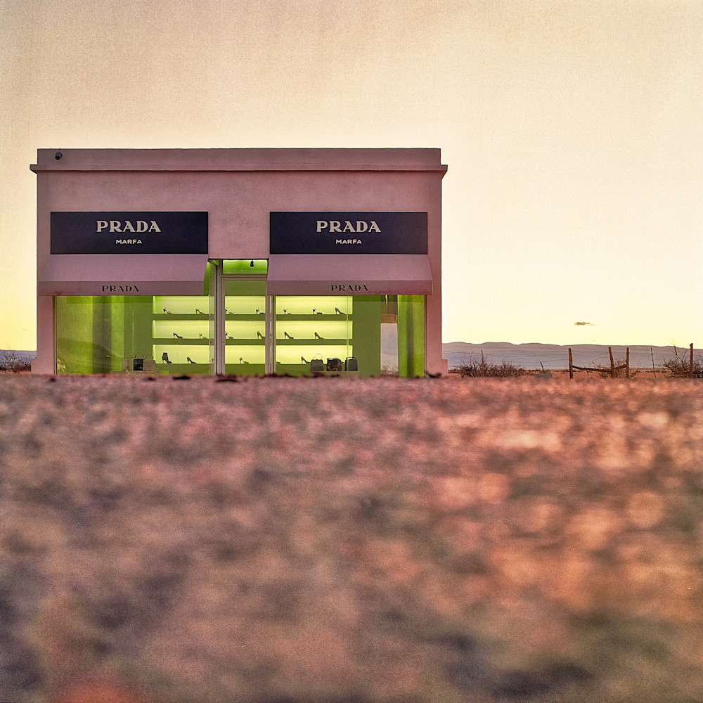 Prada Marfa I | Travel Art Photography Print