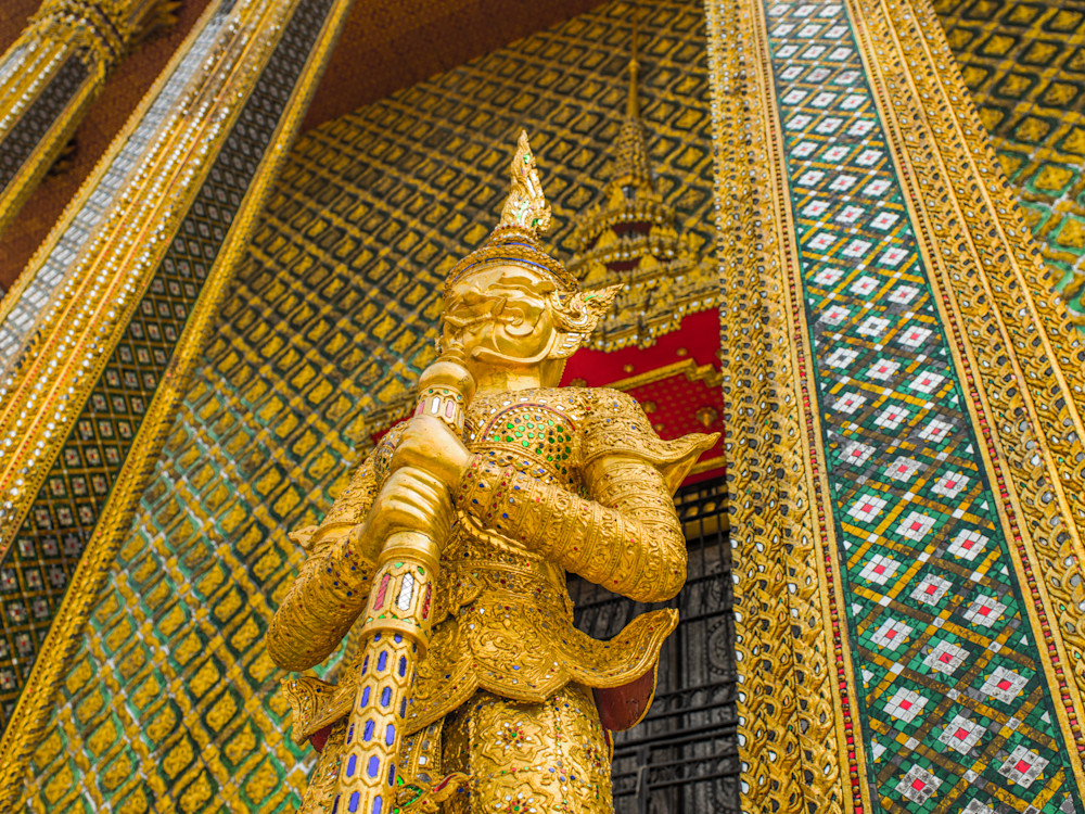 Grand Palace Guard | Travel Art Photography Print