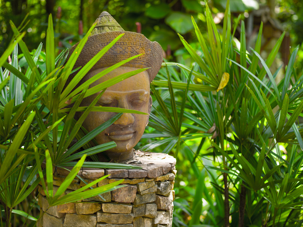 Thai Icon in Bamboo | Travel Art Photography Print