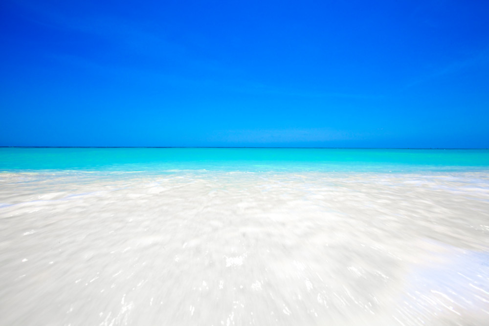 Aruba Ocean Blue | Tropical Landscape Photography Print