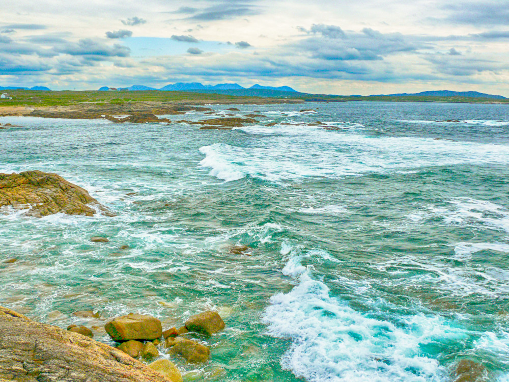West Ireland Shoreline | Tropical Landscape Photography Print