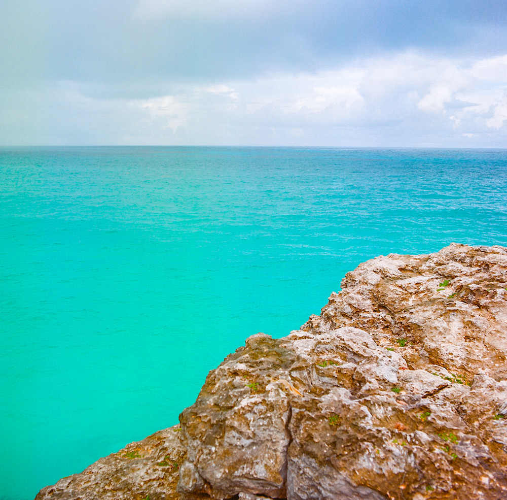 Barbados Turquoise | Tropical Landscape Photography Print