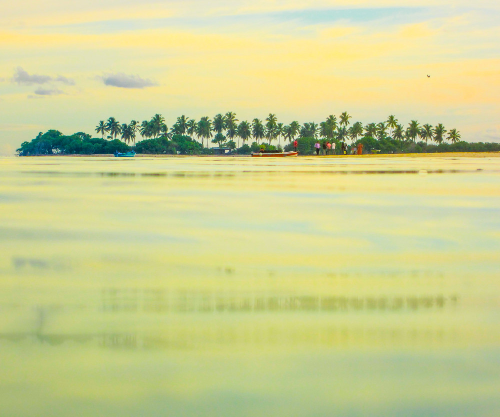 Maldives Island | Tropical Landscape Photography Print