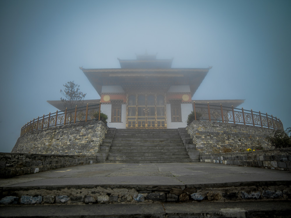 Bhutan Royal Monastery | Architecture Photography Print