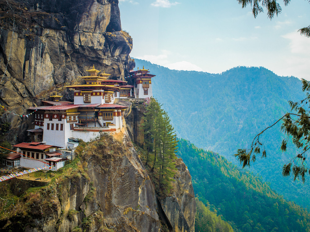 Mysterious Tiger's Nest   Travel Photography Print