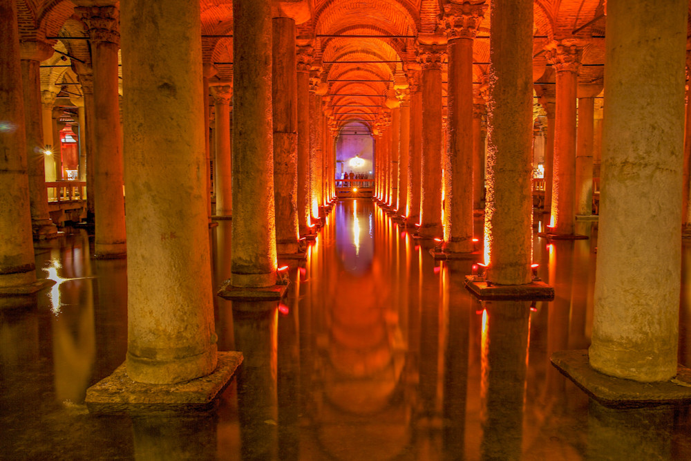 Basilica Cistern II | Travel Art Photography Print
