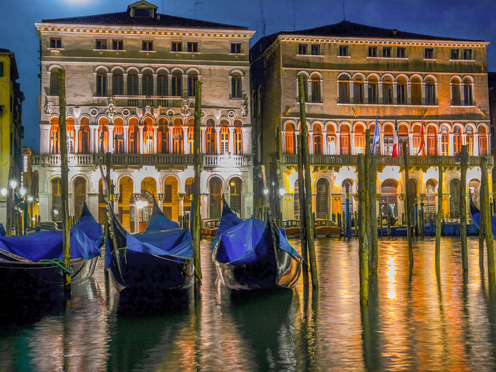 Grand Canal Gondolas | Architecture Photography Print