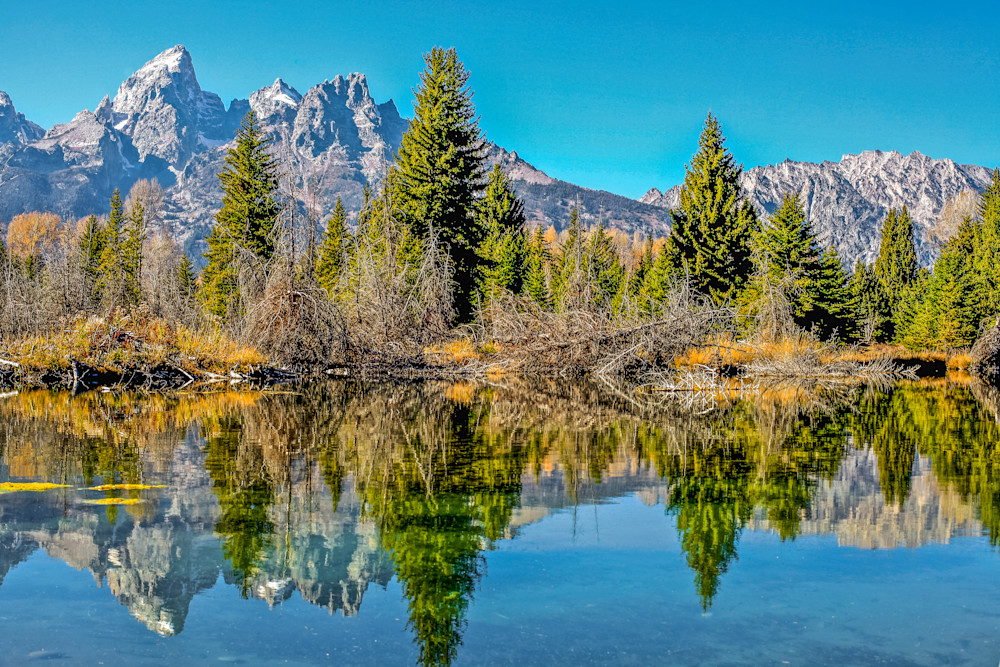 Wyoming Mountain Lake | Mountain Landscape Photography Print
