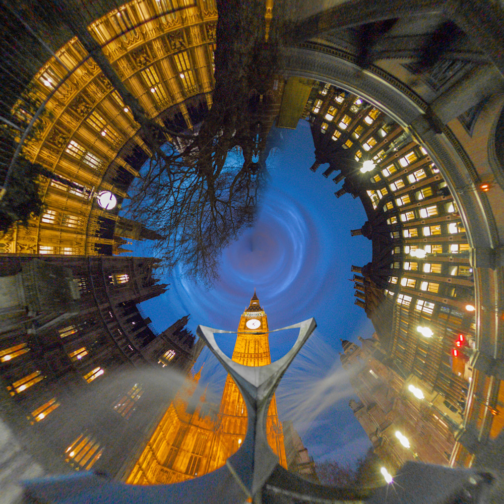 Big Ben | Tiny Planet Art Photography