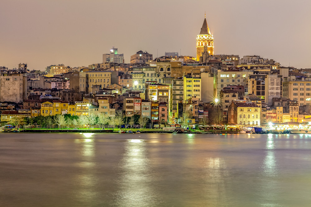 Bosphorus Strait | Cityscape Art Photography Print
