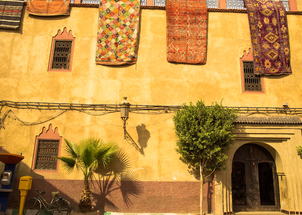 Marrakech Tapestry | Urban Art Photography Print