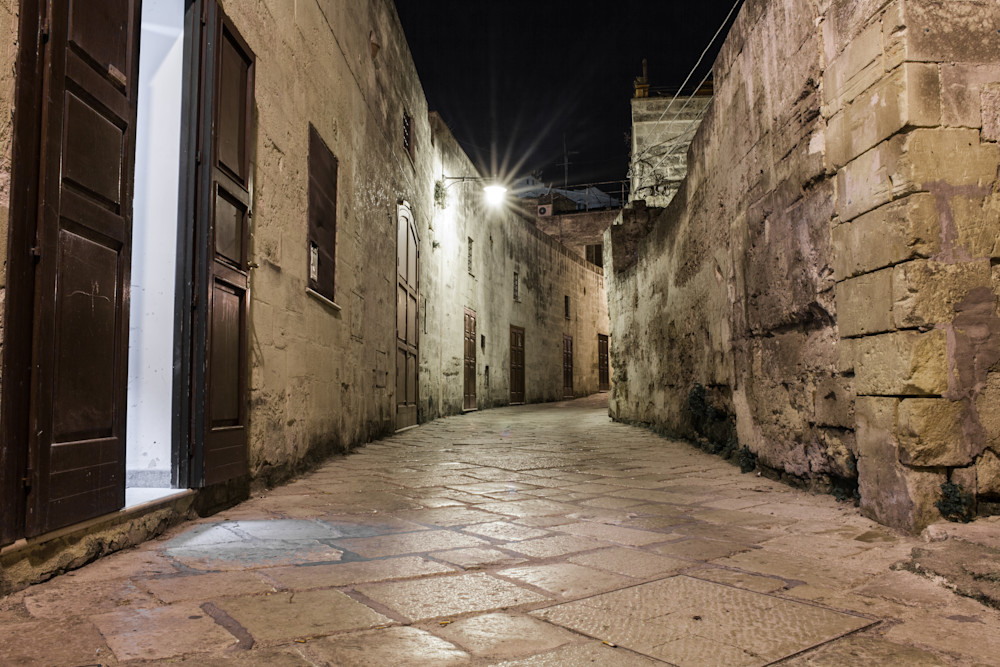 Matera Narrow Street II | Urban Art Photography Print