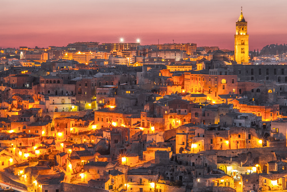 The Sassi of Matera Italy V | Cityscape Art Photography Print