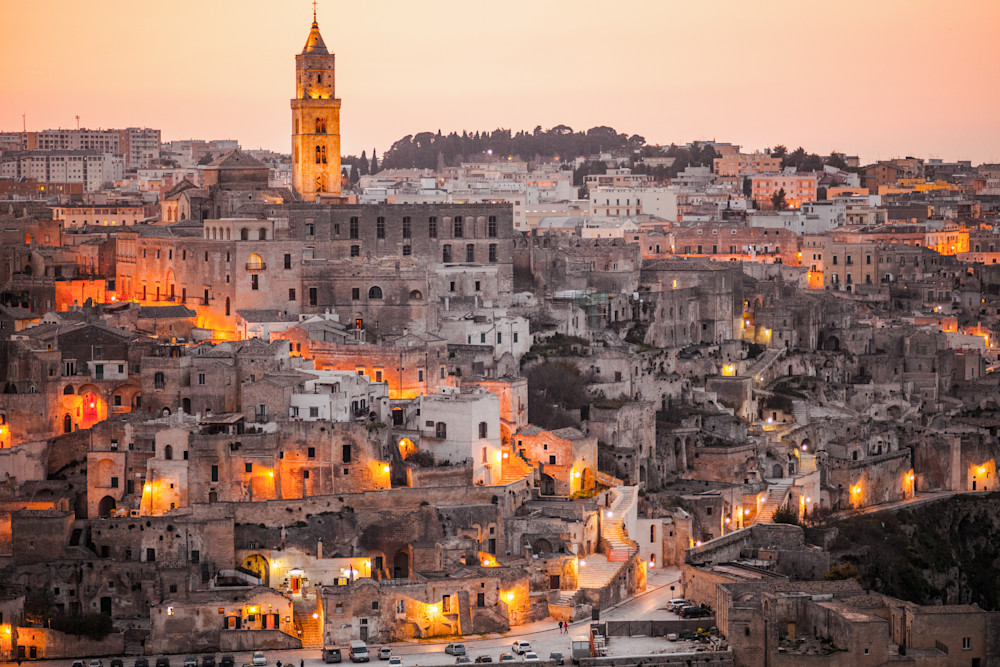 The Sassi of Matera Italy III | Cityscape Art Photography Print