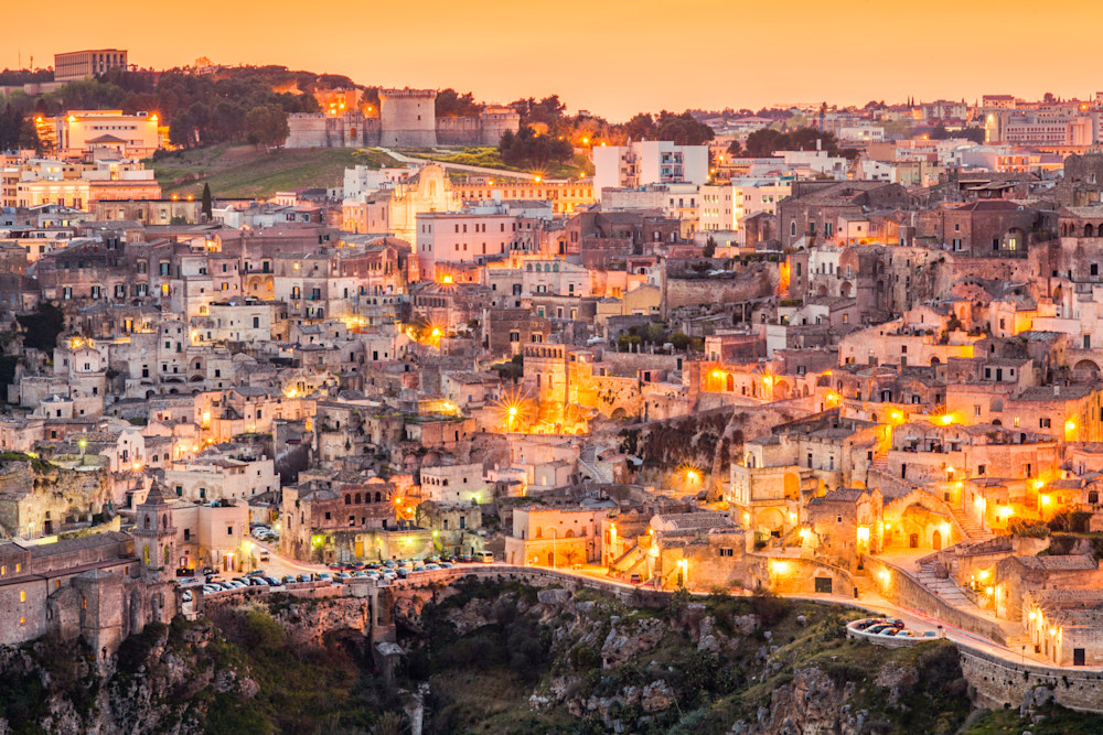 The Sassi of Matera Italy IV | Cityscape Art Photography Print