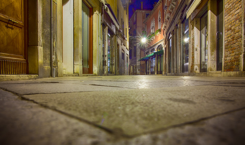 Down Low In Venice   Urban Art Photography Print