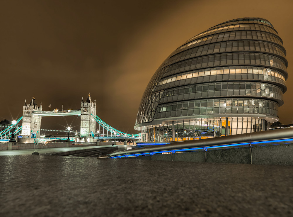 London City Hall & Tower Bridge | London Art Photography Store