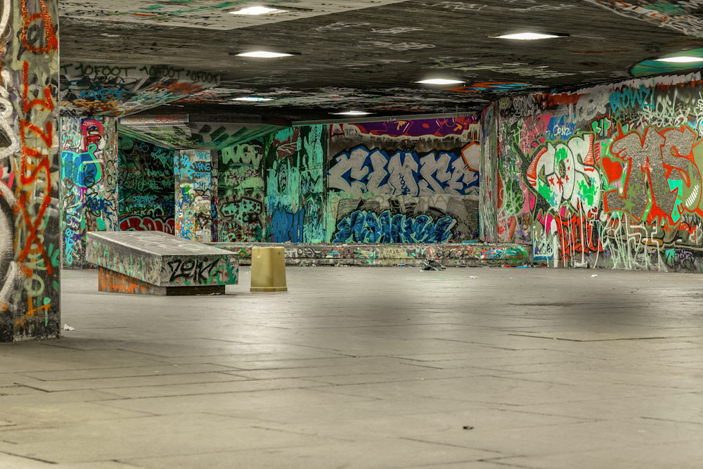 Southbank Skatepark | London Art Photography Print